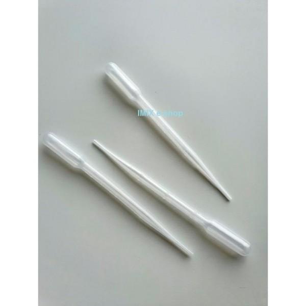 Plastová pipeta dlouhá s ryskou