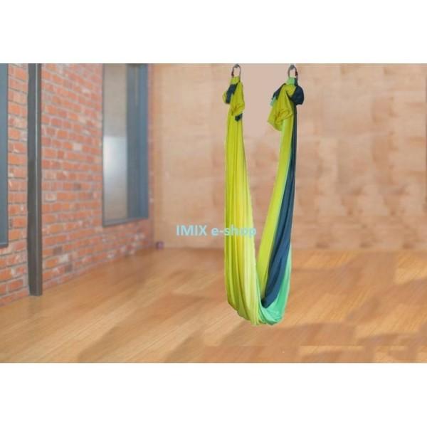 Síť na Fly jógu Žluto-zelená