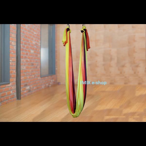 Síť na Fly jógu Žluto-červená
