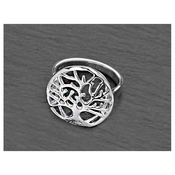 Stříbrný prsten Strom života velikost 7