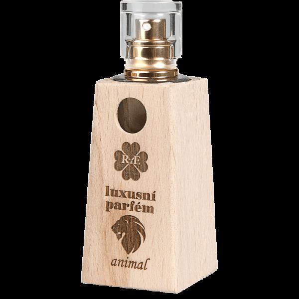 Luxusní parfém v dřevěném flakónu Animal - dub 30 ml