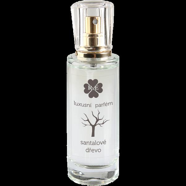 Luxusní parfém ve skle - santalové dřevo 30 ml.