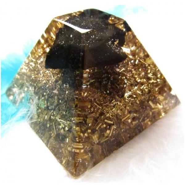 Orgonity se šungitem - malá Mayská pyramida