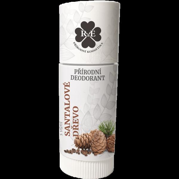 Přírodní roll-on deodorant BIO s vůní Santalového dřeva 25 ml
