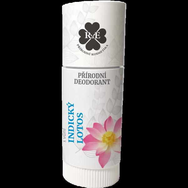 Přírodní roll-on deodorant BIO s vůní Indický lotos 25 ml