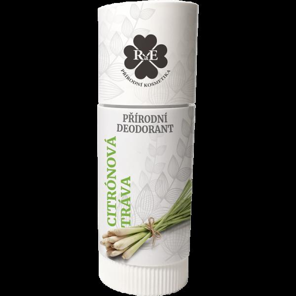 Přírodní roll-on deodorant BIO s vůní citrónové trávy 25 ml