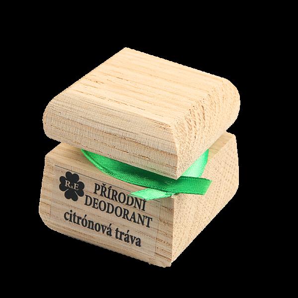 Přírodní krémový deodorant s vůní citrónové trávy
