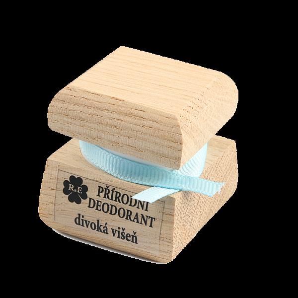 Přírodní krémový deodorant s vůní divoké višně