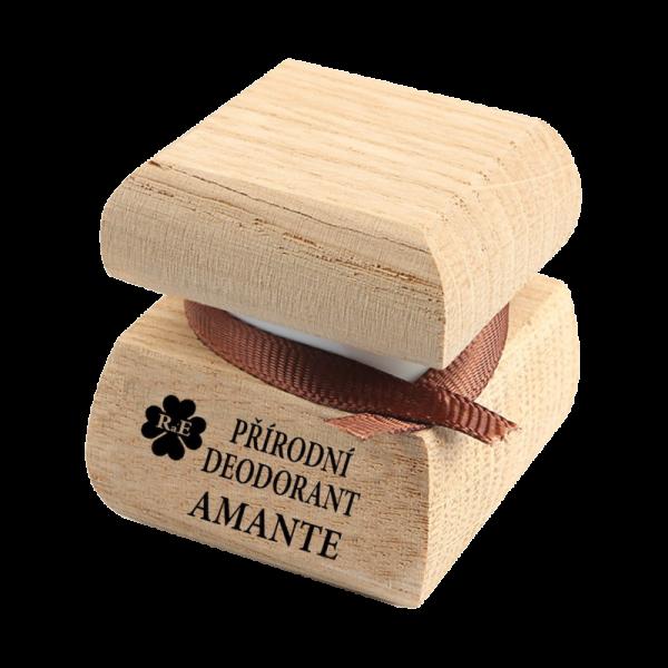 Přírodní krémový deodorant Amante