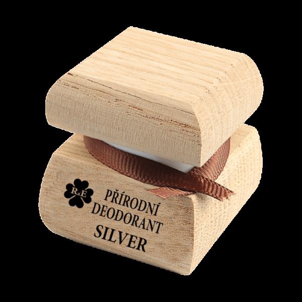 Přírodní krémový deodorant Silver