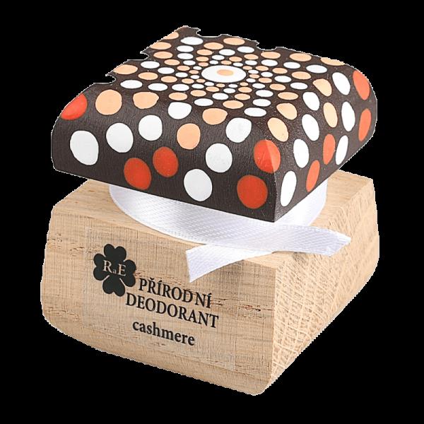 Přírodní krémový deodorant Cashmere - ručně malovaný s mandalou 15 ml