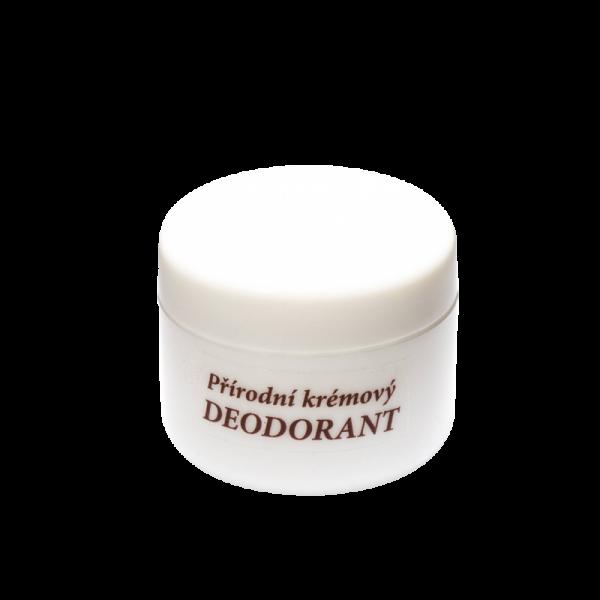 Přírodní krémový deodorant 15 ml - Náplň dle výběru