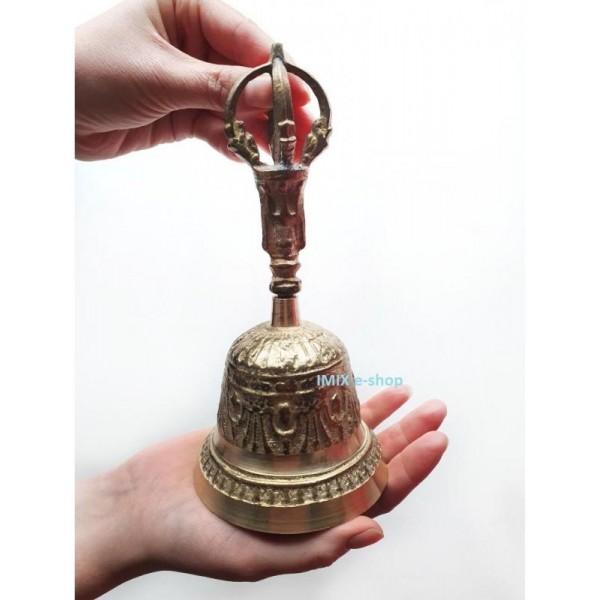 Tibetský zvon větší 16,5 cm