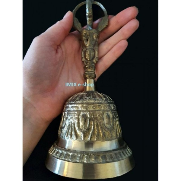 Tibetský zvon velký 19,5 cm