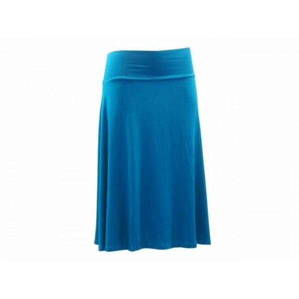 Jednobarevná středně dlouhá sukně Elena - více barev