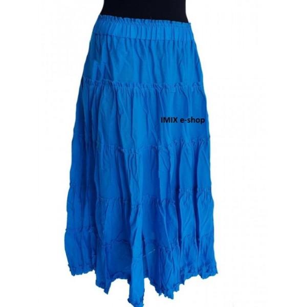 Výprodej - tykrysová nabíraná půlkolová sukně