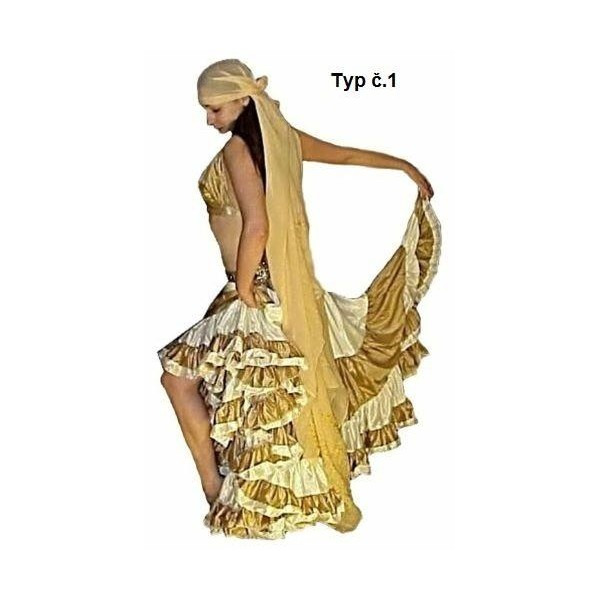 Tribal Fusion sukně 29 metrů - 44 BAREV