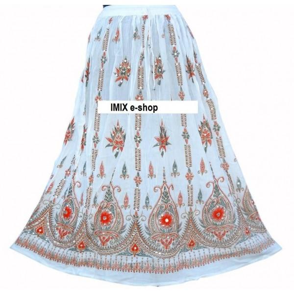 Orientální Etnic vyšívaná sukně č.TG041