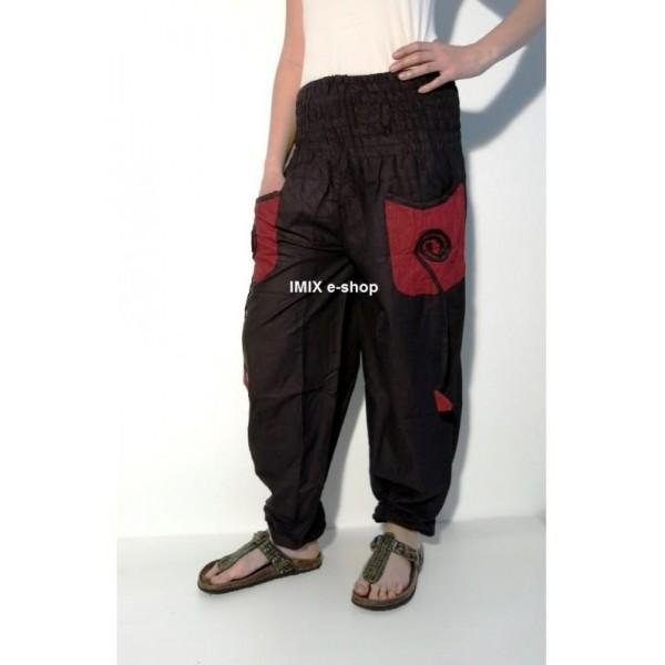 Bavlněné kalhoty s kapsami
