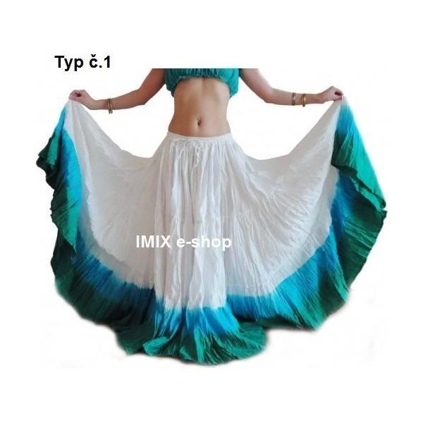 Široká sukně TRIBAL Batika - 23 metrů