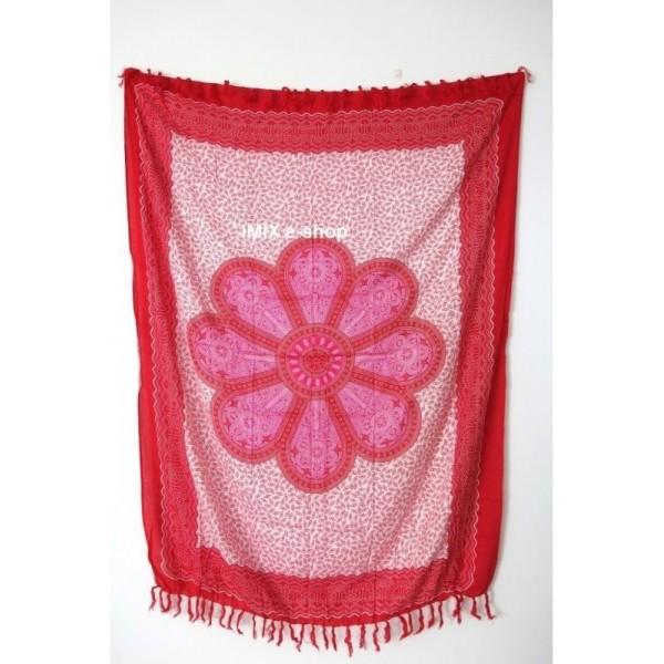 MANDALA KVĚT pareo sarong č.8