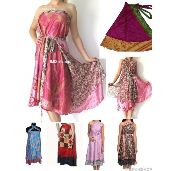 Kariza šaty/sukně dlouhá - NÁHODNÁ BARVA a slevy