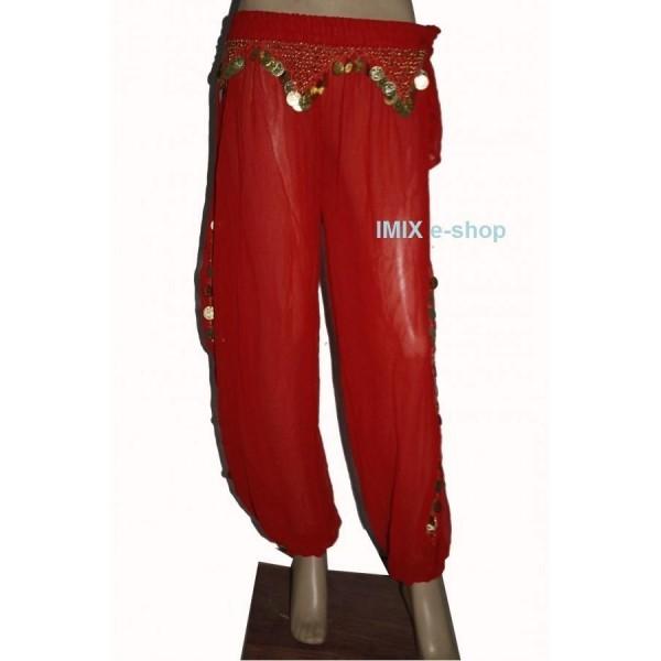 Penízkové sultánky kalhoty