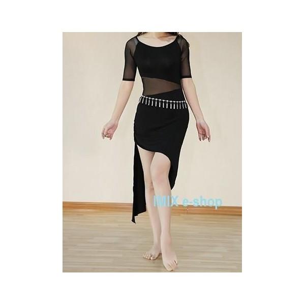 Taneční šaty se šikmou sukní Diana