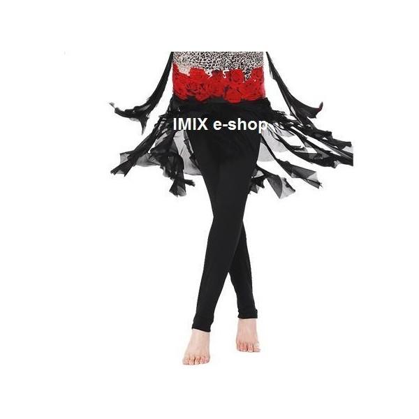 Taneční elastické kalhoty úzké