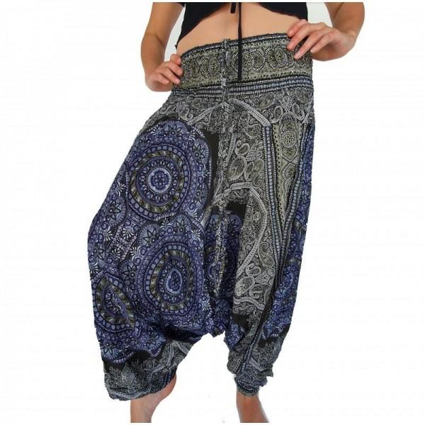 Dámské kalhoty Aladinky s nízkým sedem
