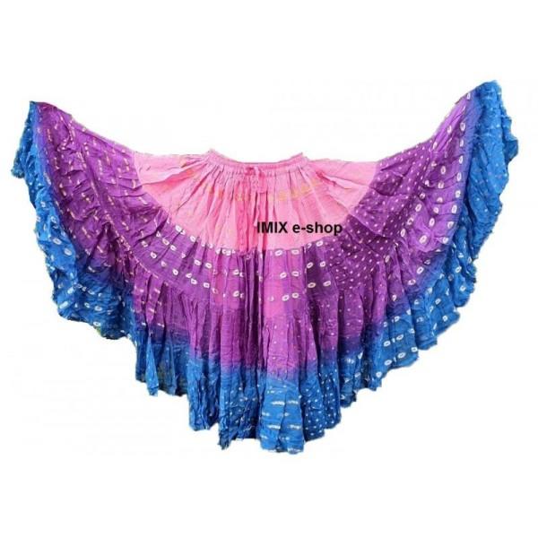 Skladem: Tribal Fusion Bollywood Sárí sukně č.11