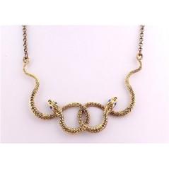 TRIBAL GOTIC náhrdelník HAD