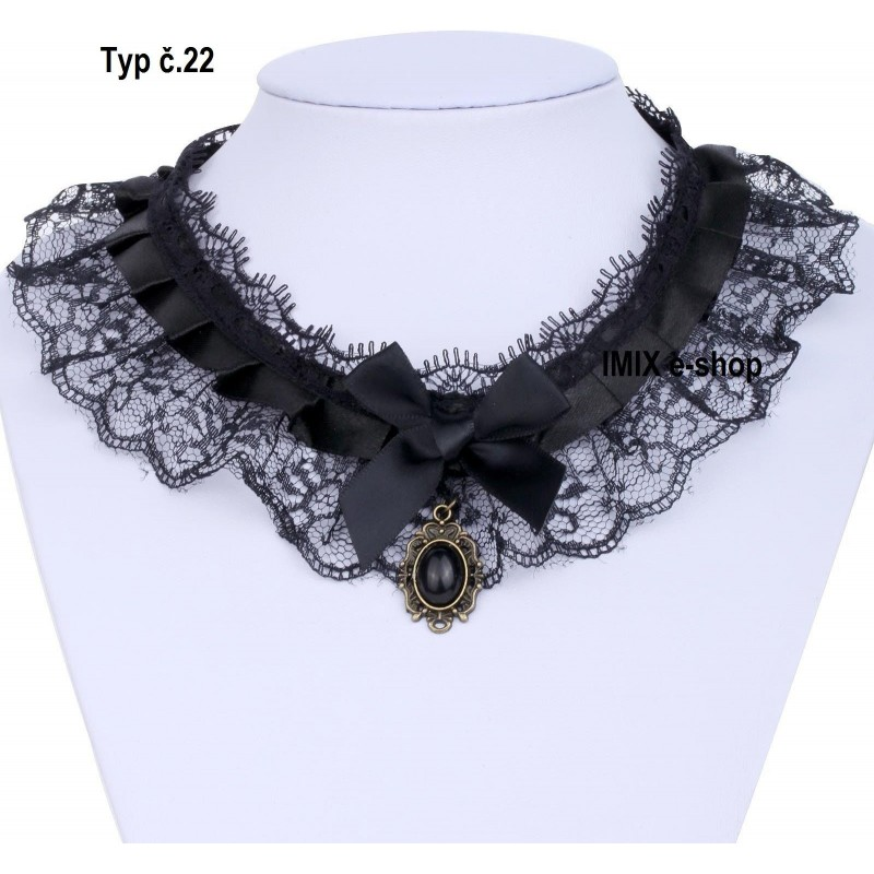 Gothic Retro Tribal náhrdelník - MIX